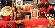 Сувениры Олимпиады-80 в Москве. Архивное фото