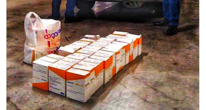Задержание перекупщика, осуществлявший продажу жизненно важного лекарственного препарата Клексан по завышенной стоимости в Бишкеке