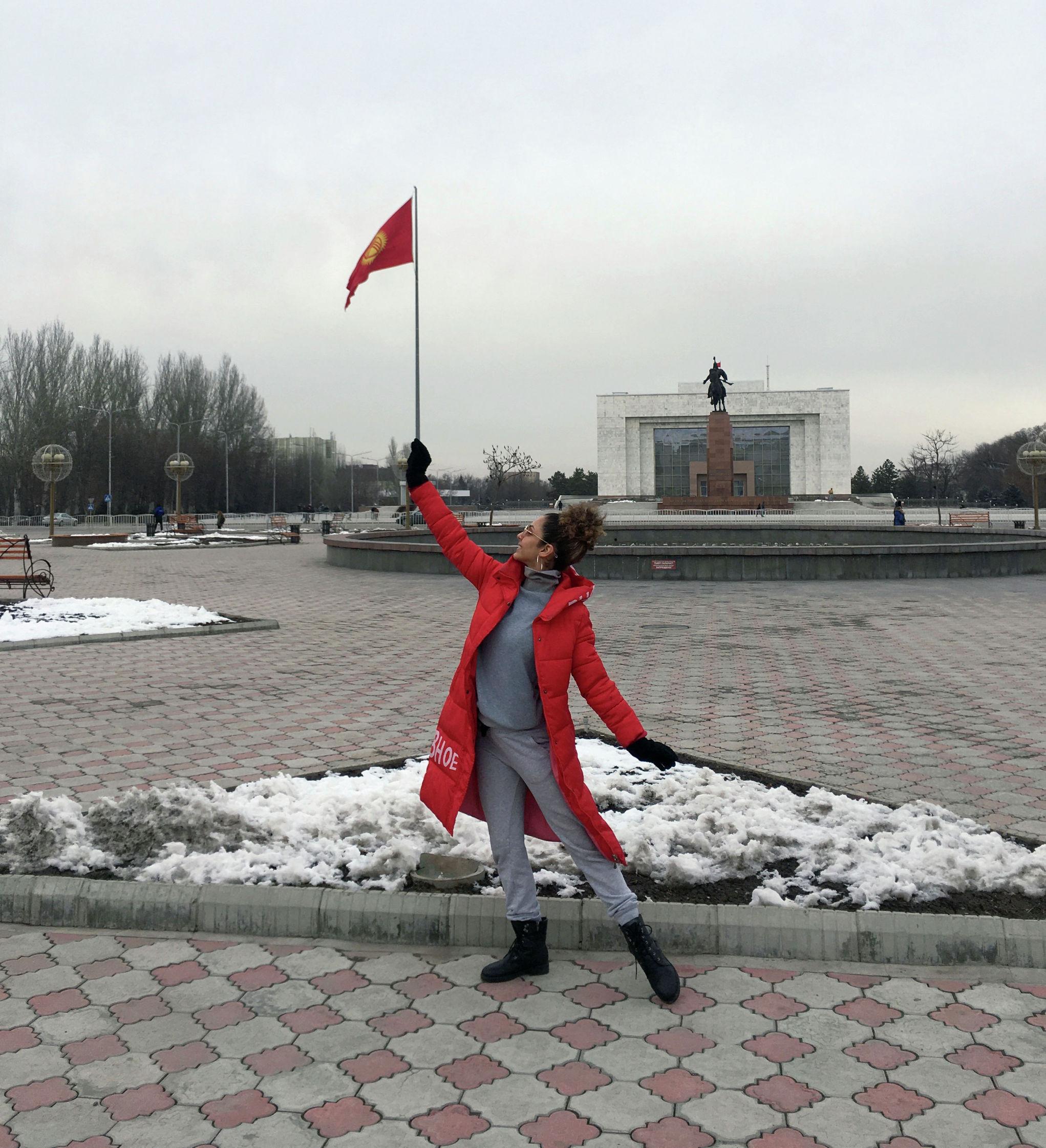 Бразильянка Джессика Лима, больше полгода живет в Бишкеке