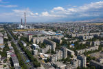 Бишкектеги ТЭЦке көрүнүш. Архивдик сүрөт