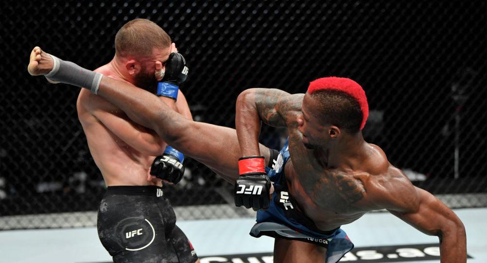 Рафаэль Физиев и Марку Диакизе на UFC Fight Night  в Абу-Даби
