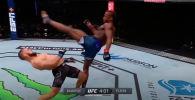 Сегодня утром в Абу-Даби состоялся турнир UFC Fight Island 2. В его рамках прошел и поединок кыргызстанца Рафаэля Физиева с британцем Марком Диакези.