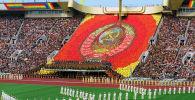 Торжественная церемония открытия XXII Олимпийских игр в Москве. Архивное фото