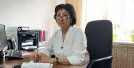 Первый заместитель председателя Фонда обязательного медицинского страхования Клара Оскомбаева