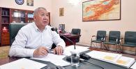 Премьер-министр Кубатбек Боронов. Архив