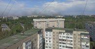 Бишкектин 11-кичи районунда гараждар күйүп жатат