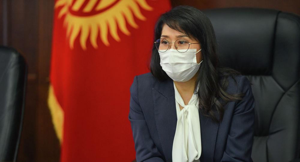 Вице-премьер-министр Аида Исмаилова. Архивдик сүрөт