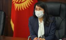Вице-премьер-министр Аида Исмаилова. Архив