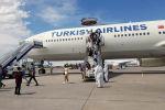 Из Турции в Бишкек прибыл чартерный рейс, на борту которого был 341 кыргызстанец