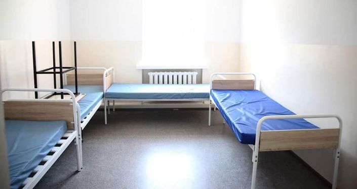 Ремонт детской инфекционной больницы в Оше