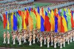 Москвада XXII Олимпиадалык оюндун ачылыш аземи. Архив