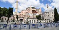 Собор Святой Софии в Стамбуле, который снова стал мечетью. Архивное фото