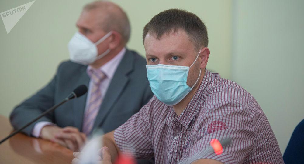 Руководитель группы российских медиков, заместитель министра здравоохранения Башкортостана Евгений Кустов. Архивное фото