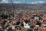 Вид на жилые районы Ла-Паса. Архивное фото