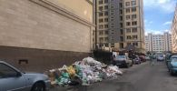 Нарушение правил благоустройства Бишкека