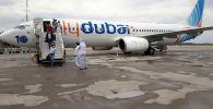 Бүгүн, 24-июлда, Fly Dubai компаниясынын Дубай — Бишкек каттамы менен 142 кыргызстандык ар кайсы өлкөдөн кайтып келди