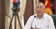 Премьер-министр Кубатбек Боронов Республикалык штабдын жыйынында