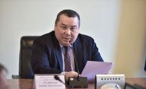 Новый исполняющий обязанности мэрии Бишкека Балбак Тулобаев