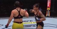 Боец UFC из Бразилии Бет Коррейя попала в странную ситуацию во время поединка с представительницей Швеции Пэнни Кианзад.