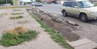Бишкекте жаңы салынган жолдордо кетирилген кемчиликтер түзөтүлүп жатат