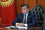 Президент Кыргызской Республики Сооронбай Жээнбеков сегодня, 27 июля, провел онлайн-совещание с Премьер-министром Кыргызской Республики Кубатбеком Бороновым.