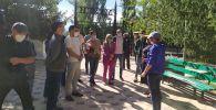 Мобильная группа российских врачей прибыла в Иссык-Кульскую область