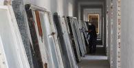 Жалал-Абад шаарында жайгашкан Түштүк аймактык жүрөк-кан тамыр хирургия илимий борборунун имараты капиталдык оңдоо иштери
