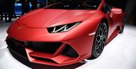 Автомобиль Lamborghini Huracan. Архивное фото