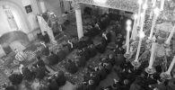 Богослужения в Московской соборной мечети. Архивное фото