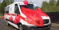 Жители Кызыл-Кии купили горбольнице карету скорой помощи