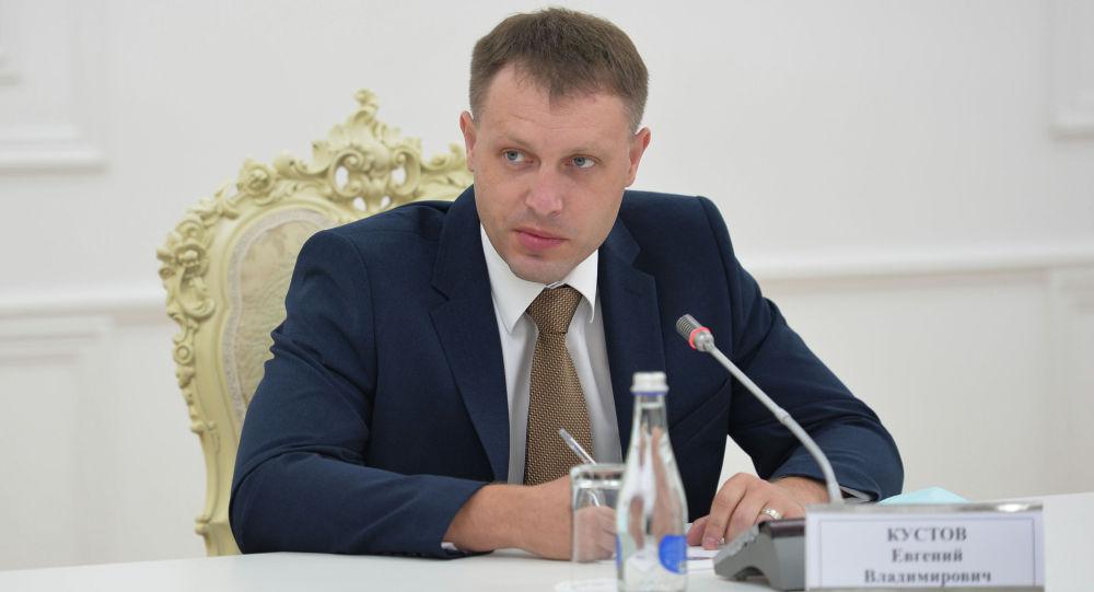 Руководитель медицинской группы, прибывшей из Российской Федерации в Кыргызстан, заместитель министра здравоохранения Республики Башкортостан Евгений Кустов. 24 июля 2020 года