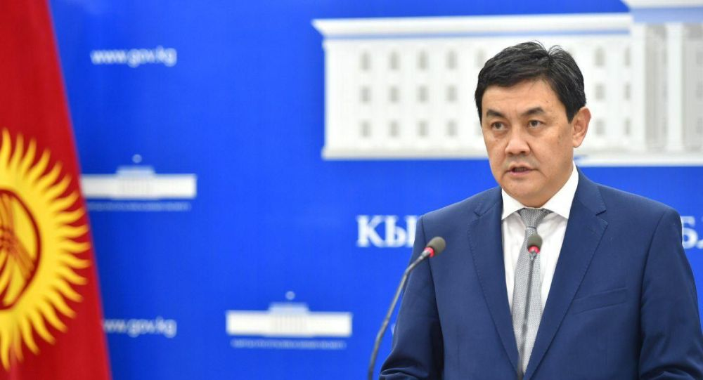 Министр экономики КР Санжар Муканбетов