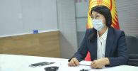 Вице-премьер-министр Аида Исмаилова ШКУ форумуна катышты
