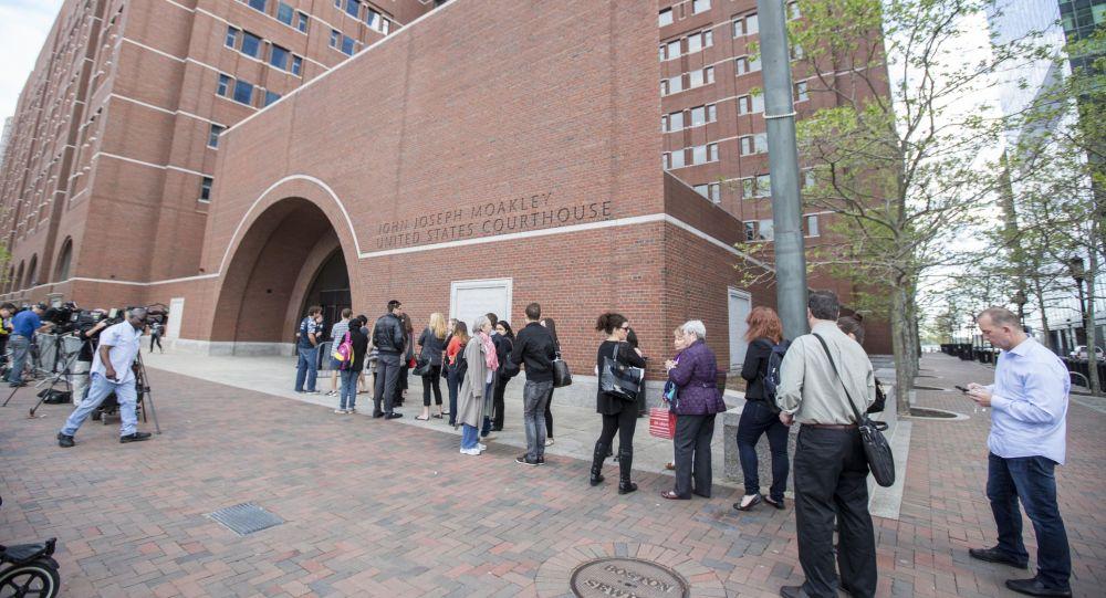 Суд по делу Царнаева в Бостоне, штат Массачусетс. Архивное фото