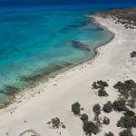 Пляж на греческом острове Хриси