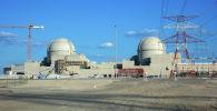 Вид на Баракскую АЭС, электростанции в районе Гарбия в Абу-Даби. Архивное фото
