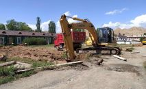 В Нарыне начали строить больницу для лечения от инфекционных заболеваний