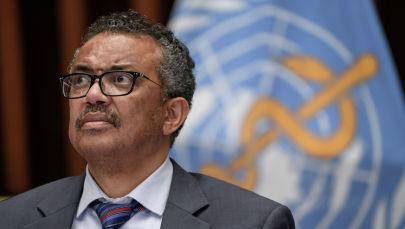 Глава Всемирной организации здравоохранения Тедрос Адханом Гебрейесус. Архивное фото