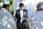 Президент Сооронбай Жээнбеков Чолпон-Ата шаарындагы Ысык-Көл райондук аймактык ооруканасында