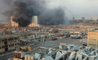 Бейруттагы катуу жарылуунун таасирлери