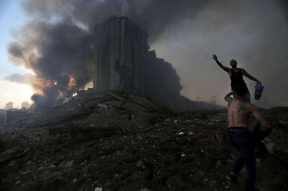 Ливандын Жогорку коргонуу кеңеши Бейрутту кырсык аймагы деп жарыялады