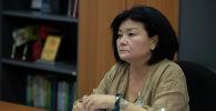 Бишкек шаардык билим берүү башкармалыгынын жетекчиси Элмира Иманалиева