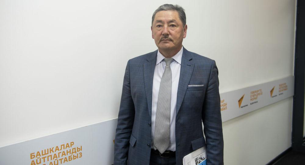 Заместитель председателя Национального статистического комитета КР Кошой Исалиев