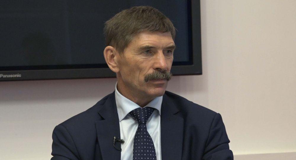 Представитель Российского союза ветеранов войны в Афганистане Вячеслав Некрасов. Архивное фото