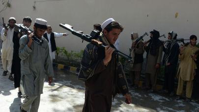 Талибан тобунун мүчөлөрү. Архив
