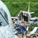 На месте жесткой посадки самолета Air India Express в международном аэропорту Каликут в городе Кожикоде, Индия. 8 августа 2020 года