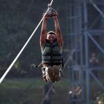 Курсант Военной академии США во время тактических и физических тренировок в рамках летней подготовки кадетов в Вест-Пойнте  Нью-Йорк, США, 7 августа 2020 г.