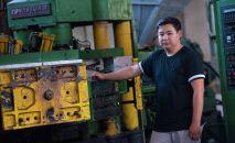 Бизнесмен из Бишкека Эркин Маматкулов