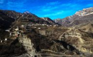 Поселение в горах Дагестана. Архивное фото