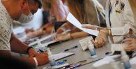 Голосование на выборах президента Белоруссии